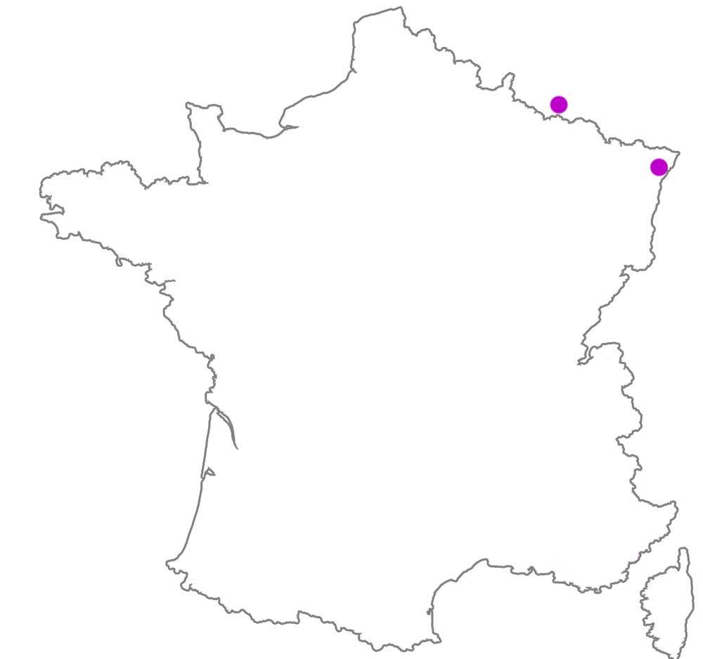 carte de France Revendeurs